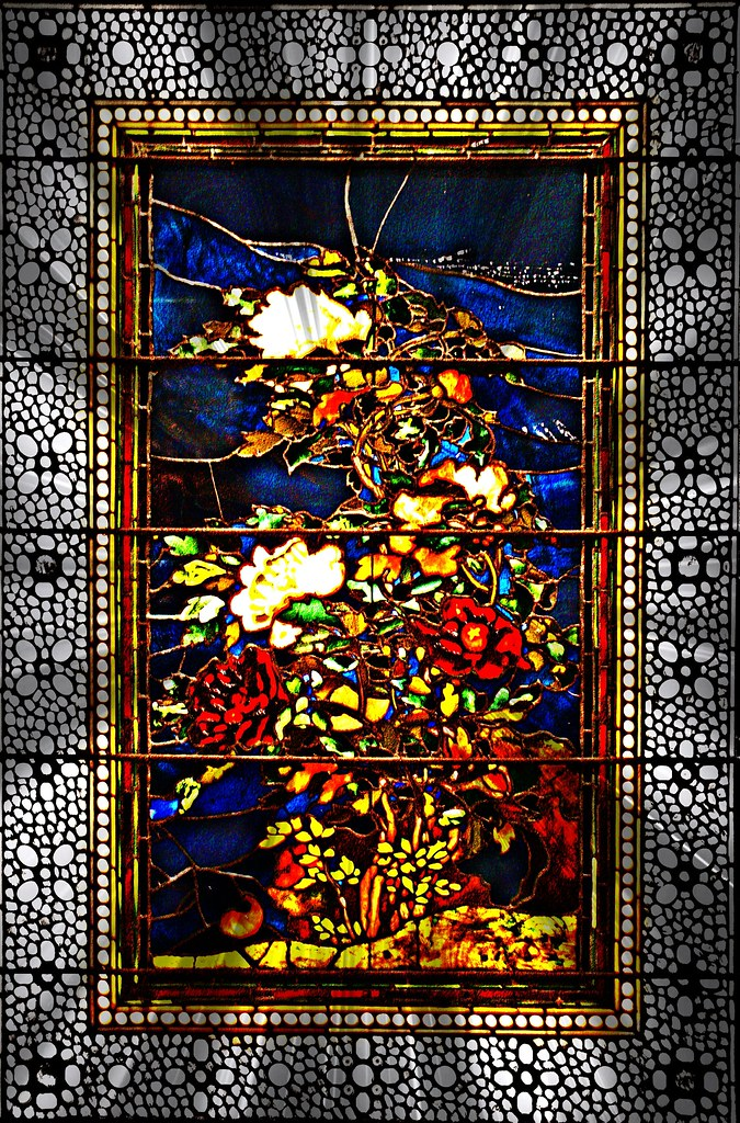 Quot Peonies Blown In The Wind Quot Stained Glass Window By John