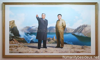 The Leaders of the DPRK at Mt. Paekdu, #1 | by humanitybesideus.net