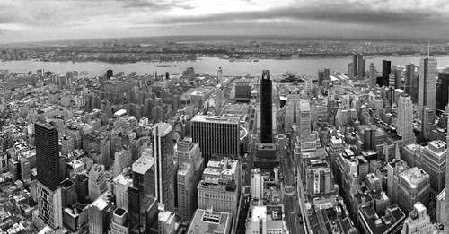 Looking west from the top of the Empire State Building | by Michael Surtees