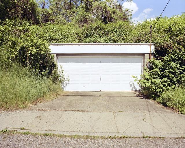 Hillside garage mon valley series hazelwood pittsburgh for Hillside garage doors