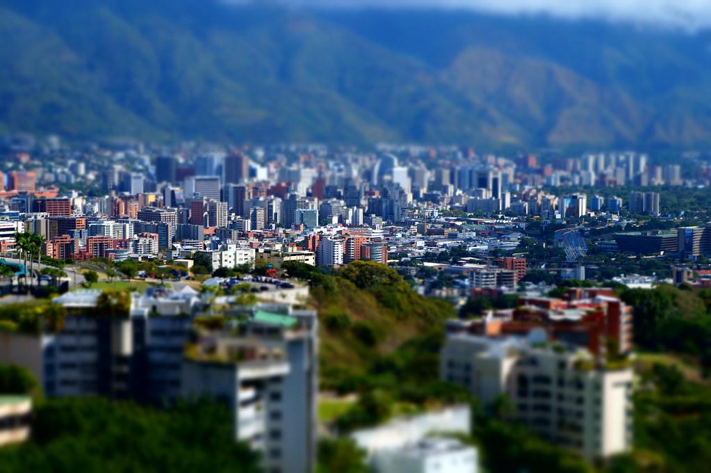 Caracas Tilt Shift