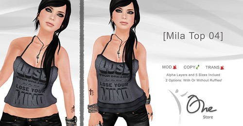 [Mila Top 04] | by Julyanne Sands :: One Store ::