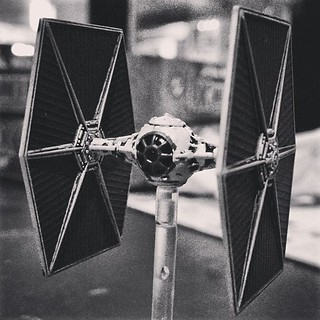 My TIE Fighter (X-Wing Miniature Game) | by msaari