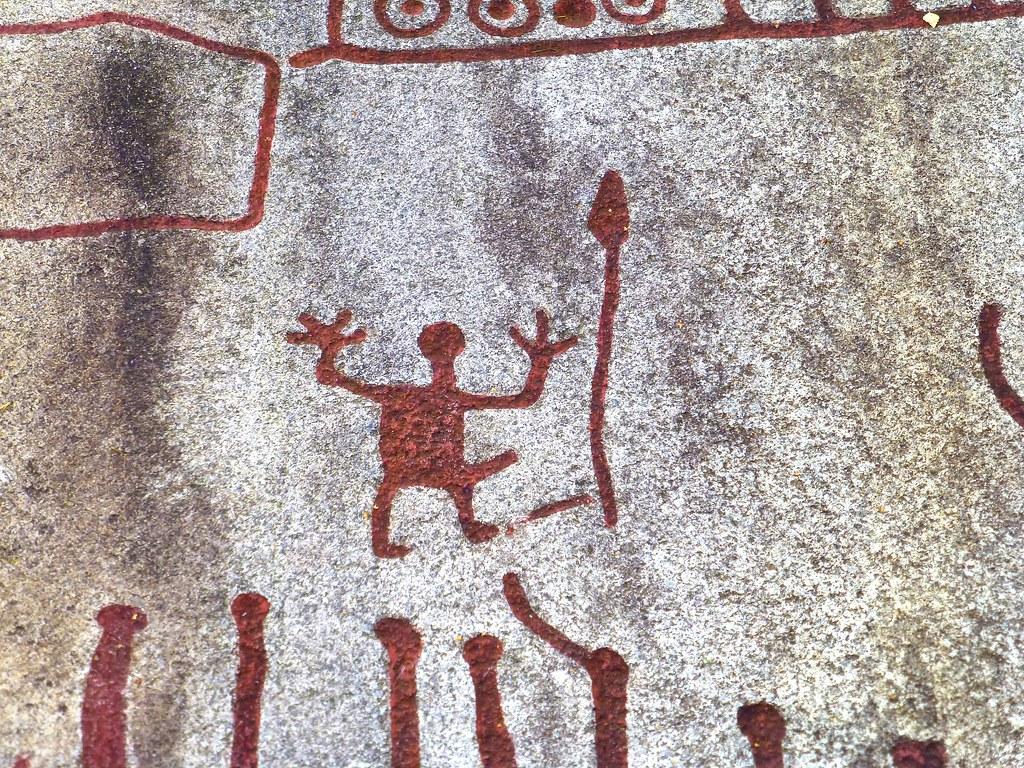 Bronze age rock carvings in tanum sweden unesco world he