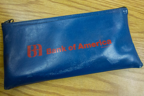 Old Bank of America pouch | by Carbon Arc