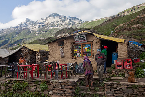 Sonam Dhaba at Gramphu, Lahaul Valley, Himachal Pradesh | by arunchs