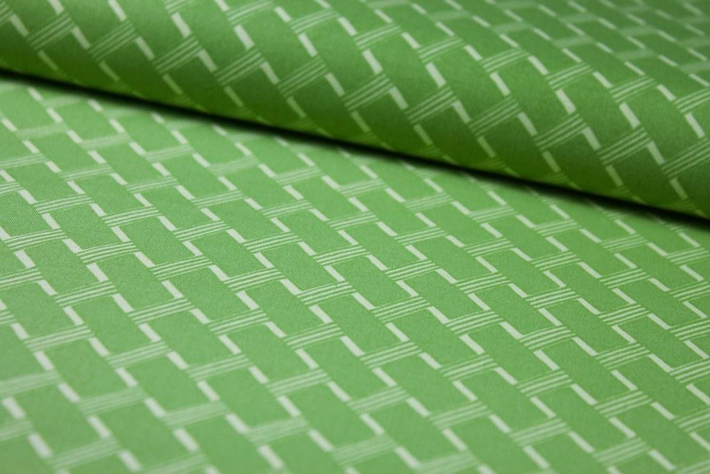 """Baumwollstoff """"Cottage Path"""", grün"""