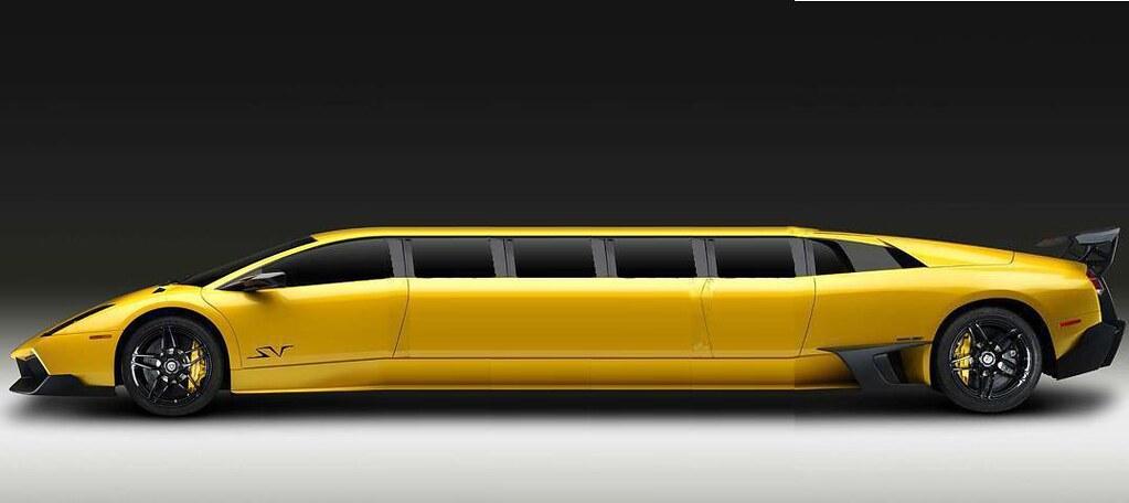 Lambo Limo Lamborghini Murcielago Superveloce Limousine