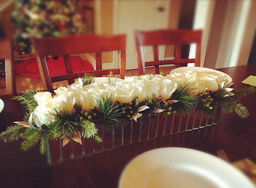 Holiday Centerpiece  - Shirley's Flowers & Gifts, Inc., in Rogers, Ark. | by Flower Factor