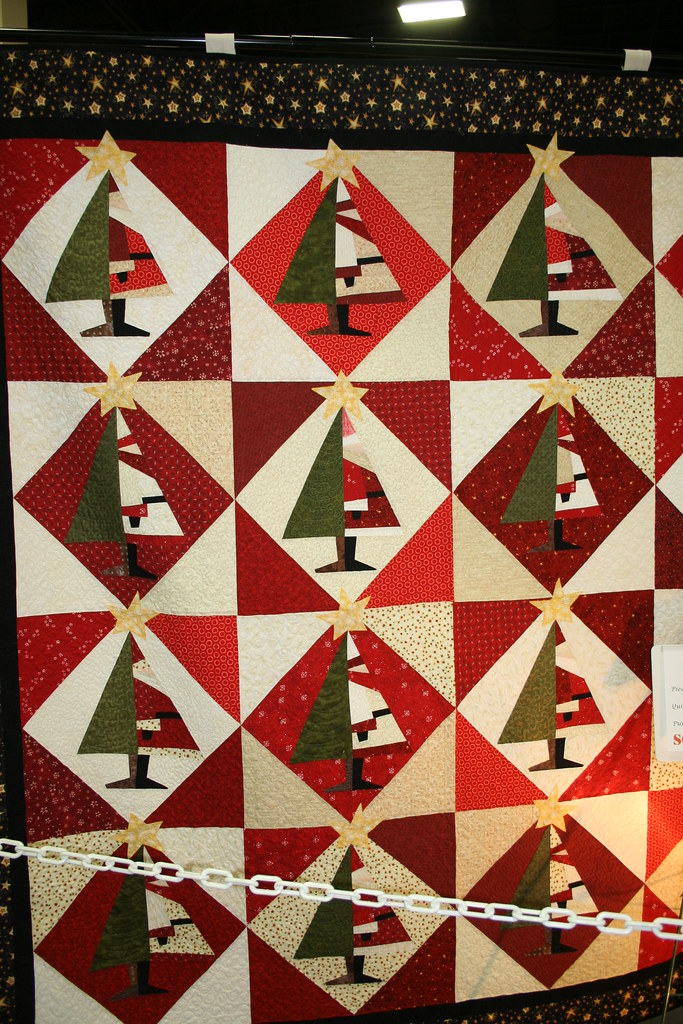 Santa Baby Quilt Quilter By Valerie Cutrer Santa Goes Back Flickr