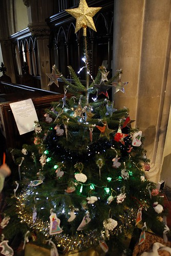 Large Decorated Christmas Trees