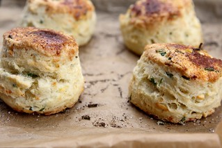 Feta and Chive Sour Cream Scone | by joy the baker