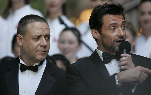 Russell Crowe, Hugh Jackman