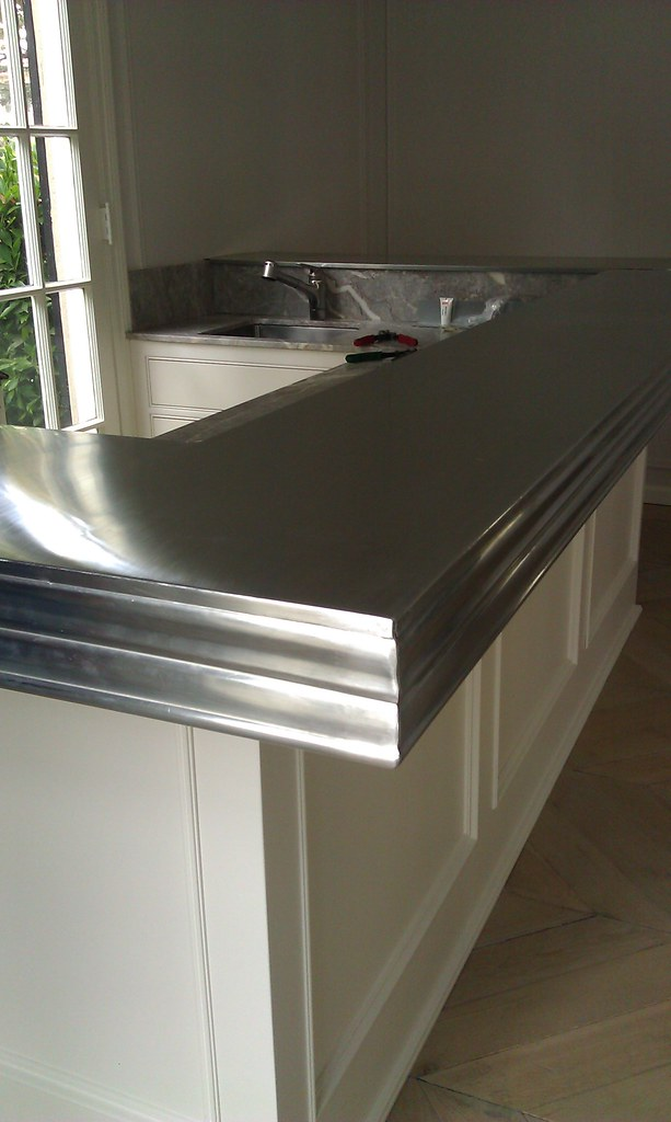Amazing Zinc Countertop West Coast Sheet Metal Amp Design