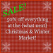 50% off {what next} Christmas & Holiday Decor