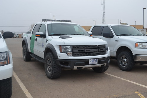 Us Border Patrol 2012 Ford F 150 Raptor Blue Line