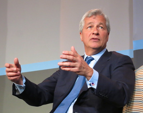 Jamie Dimon,  CEO of JPMorgan Chase | by jurvetson