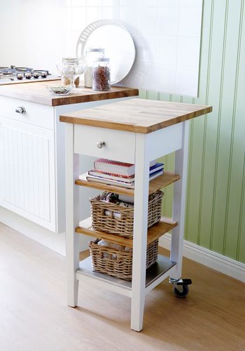 Stenstorp kitchen carts perfect for preparing serving - Table a roulettes ikea ...