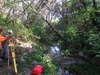 Creek setup AW | by chaparralsurveying