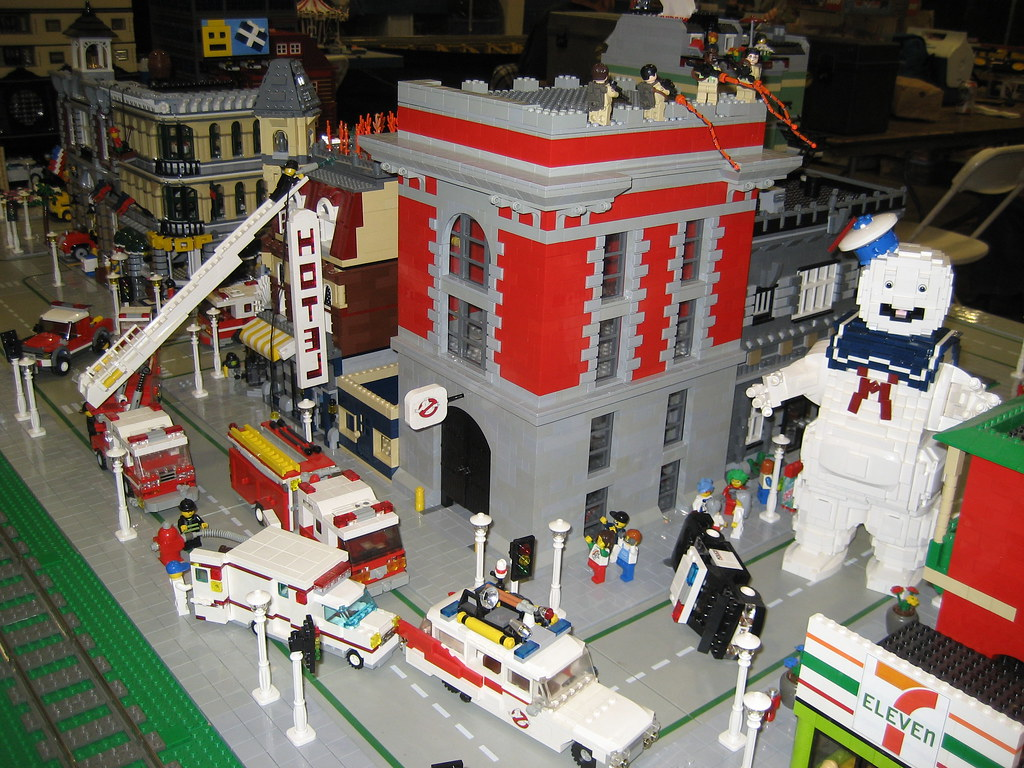 Lego Headquarters Lego Ghostbusters This Is Is Just Way Too Much Awesome