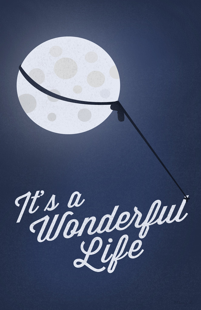 Image result for it's a wonderful life poster art