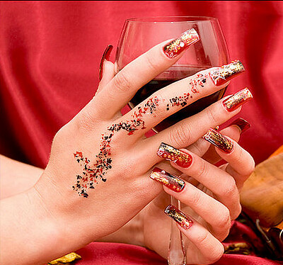 Bridal Nail Art 2012 Designs
