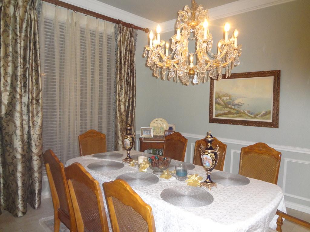 Comfort Gray Dining Room