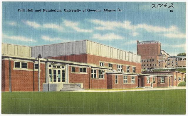 Drill Hall And Natatorium University Of Georgia Athens Flickr Photo Sharing