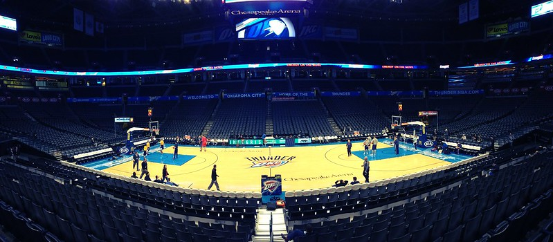 A Look Around Chesapeake Energy Arena