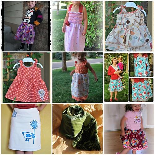 2012 sewn clothes