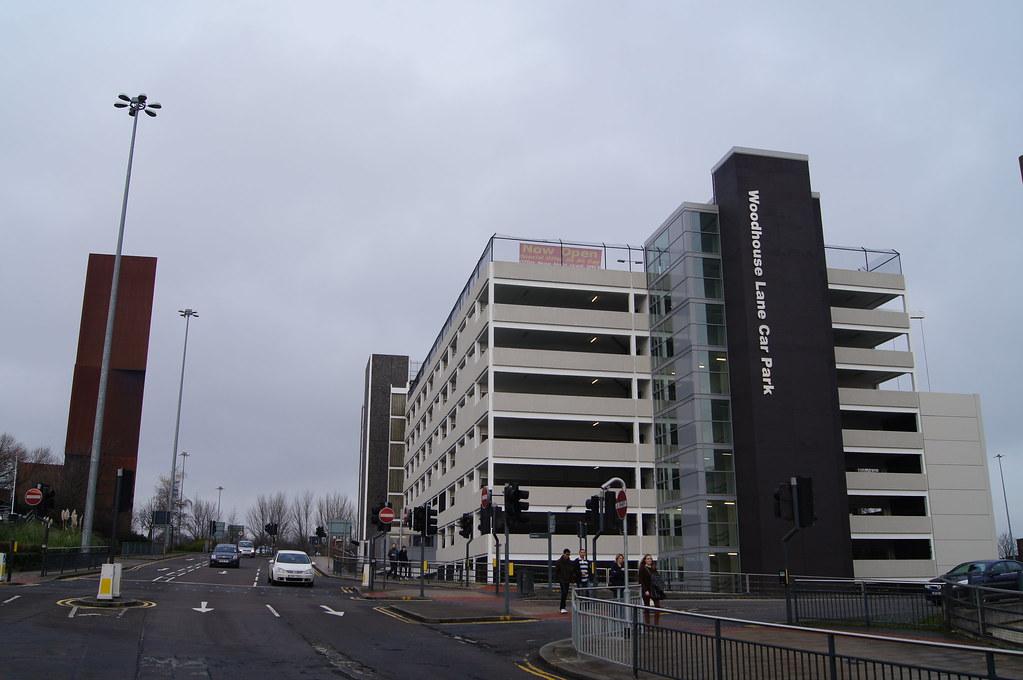 Car Park Woodhouse Lane Leeds