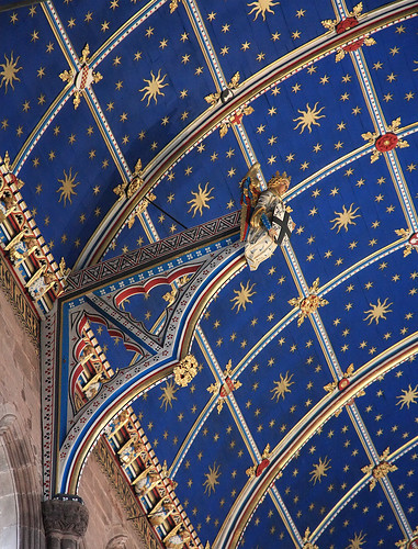 Detail Of The Choir Ceiling Carlisle Cathedral Carlisle