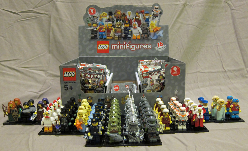 Lego Collectible Minifigures Series 9 Unpacked My Series