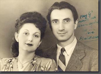 Lisa e Michel Golabek