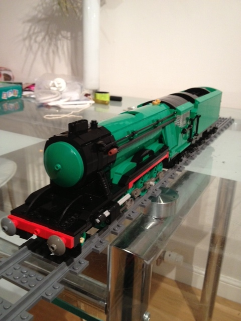 Lego Flying Scotsman work in progress | Still need to create… | Flickr