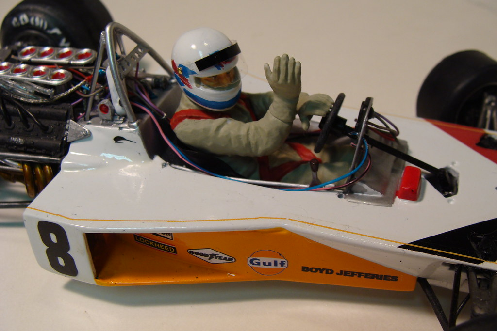 1973 Yardley Mclaren M23 Peter Revson 1 20 Scale Tamiya