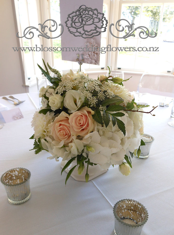 Vintage Table Wedding Reception Centerpiece Flower Arrange Flickr