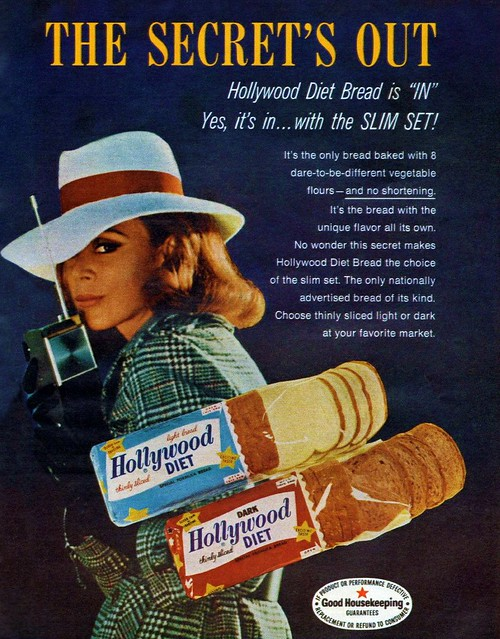 HOLLYWOOD DIET BREAD 60s