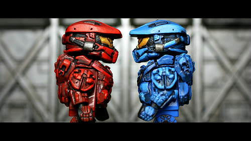 blue vs red games
