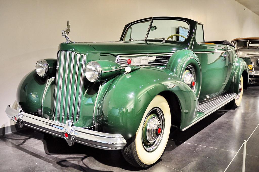 1939 packard super 8 convertible