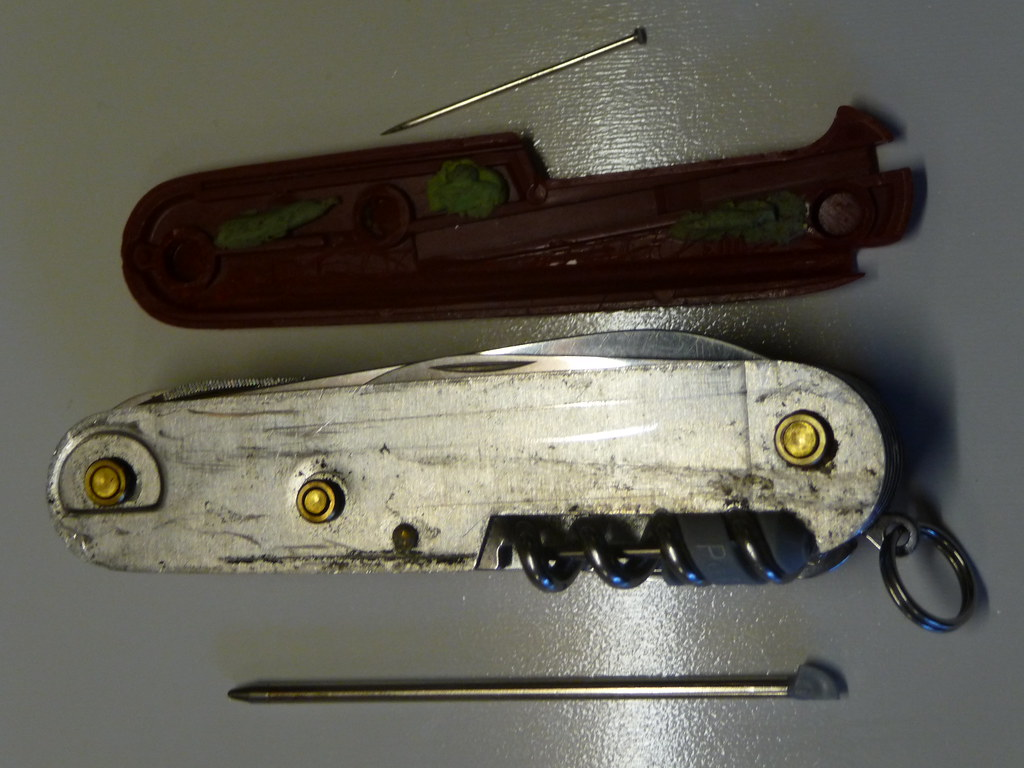 Modding My Victorinox Ranger Model Swiss Army Knife Flickr