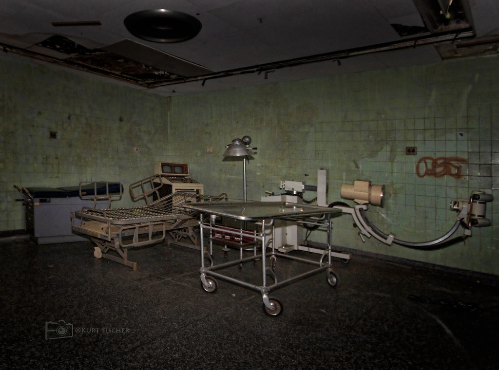 Operating Room | More interesting rooms at the abandoned ...