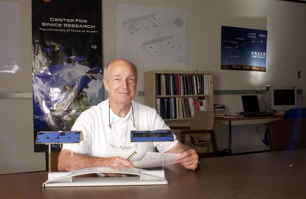 Professor Byron Tapley | Dr. Byron Tapley earned his Ph.D. i… | Flickr