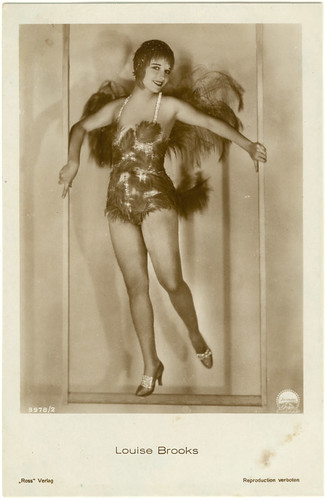 "Louise Brooks in ""The Canary Murder Case"" - Ross postcard"