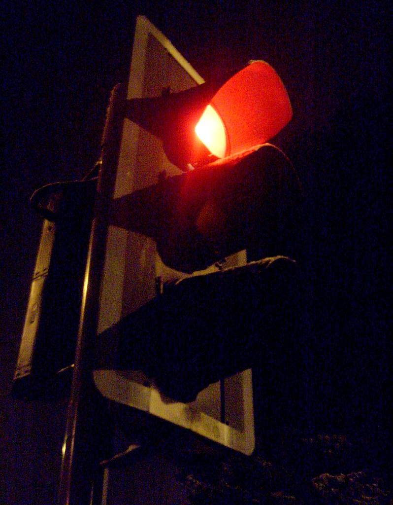 Late night traffic light | James Bowe | Flickr for Real Traffic Light Night  70ref