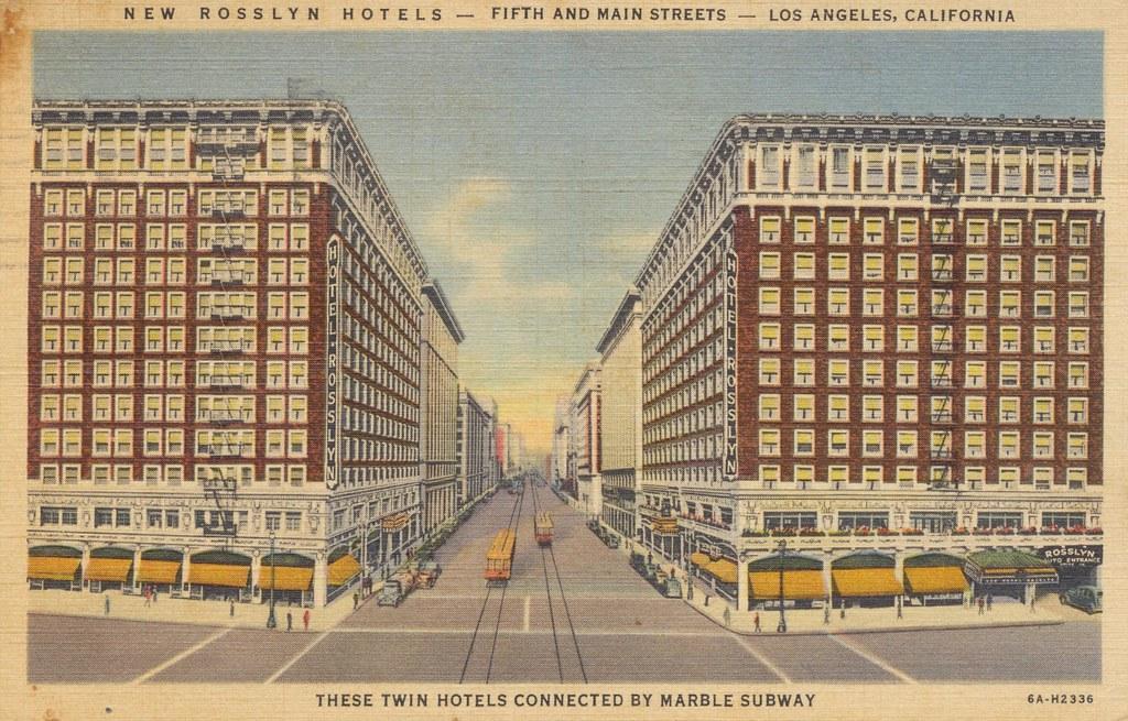 Rosslyn Hotels - Los Angeles, California