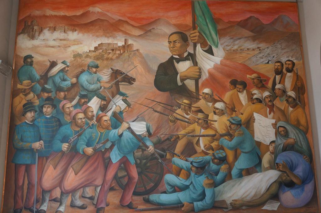 Mural de benito juarez alex m flickr for Benito juarez mural