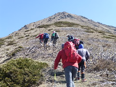 Steil hinauf zum Samdo Peak
