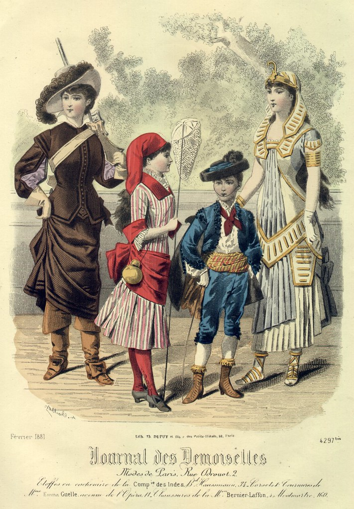 Travestissements, 1881