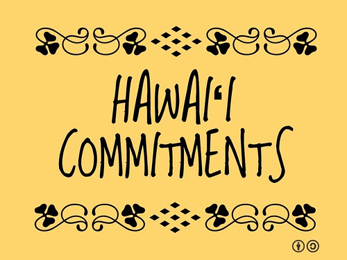 Buzzword Bingo: Hawaiʻi Commitments